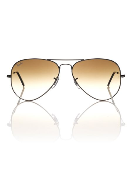 Ray-Ban Unisex RB3025 004/51L.Metal Aviator Sunglasses