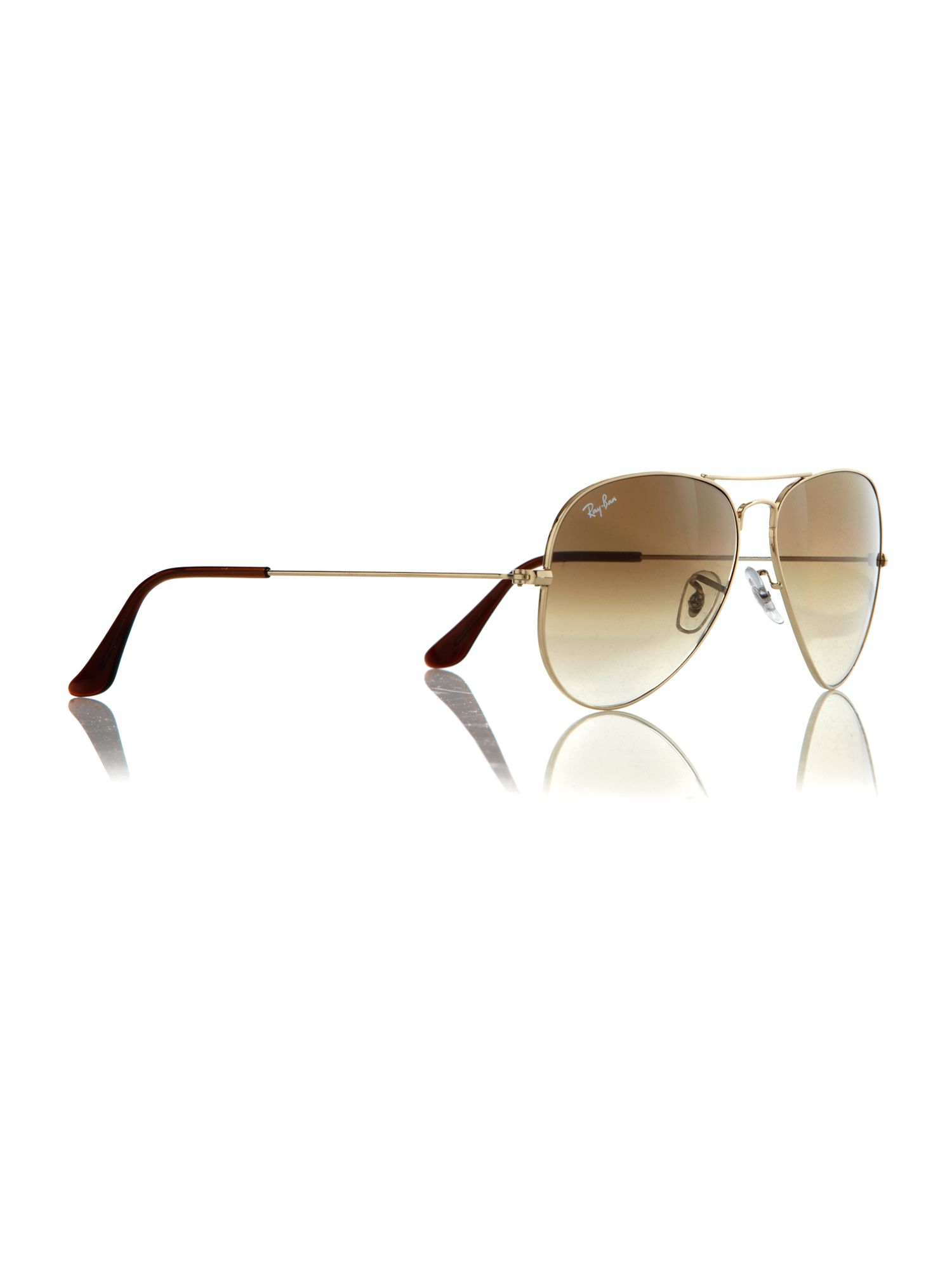 Unisex RB3025 001/51 Arista Aviator Sunglasses