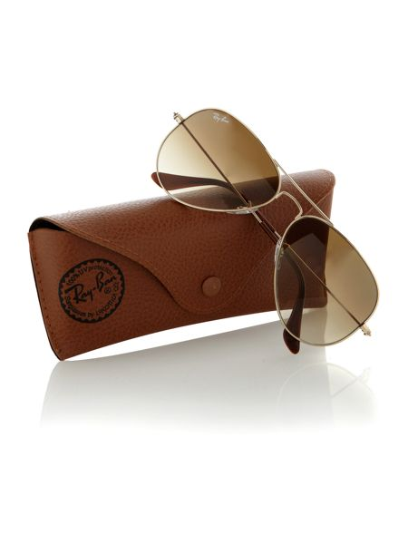 Ray-Ban Unisex RB3025 001/51 Arista Aviator Sunglasses