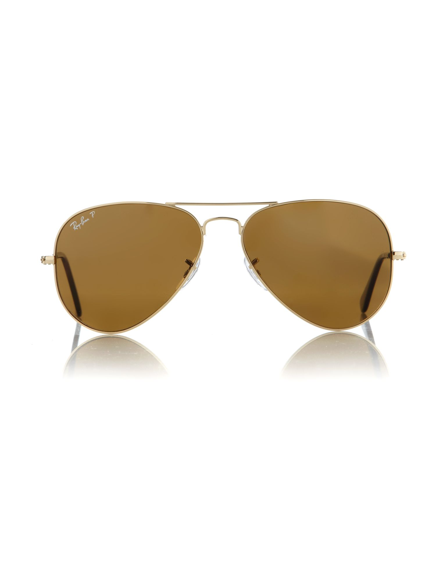 Unisex RB3025 58 Arista Aviator Sunglasses