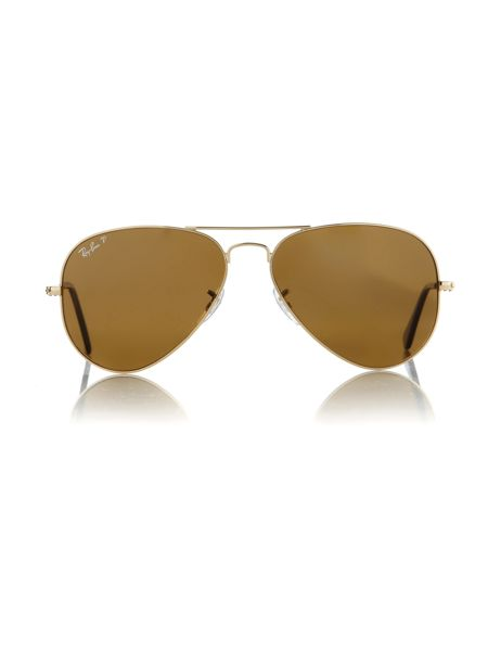 Ray-Ban Unisex RB3025 58 Arista Aviator Sunglasses