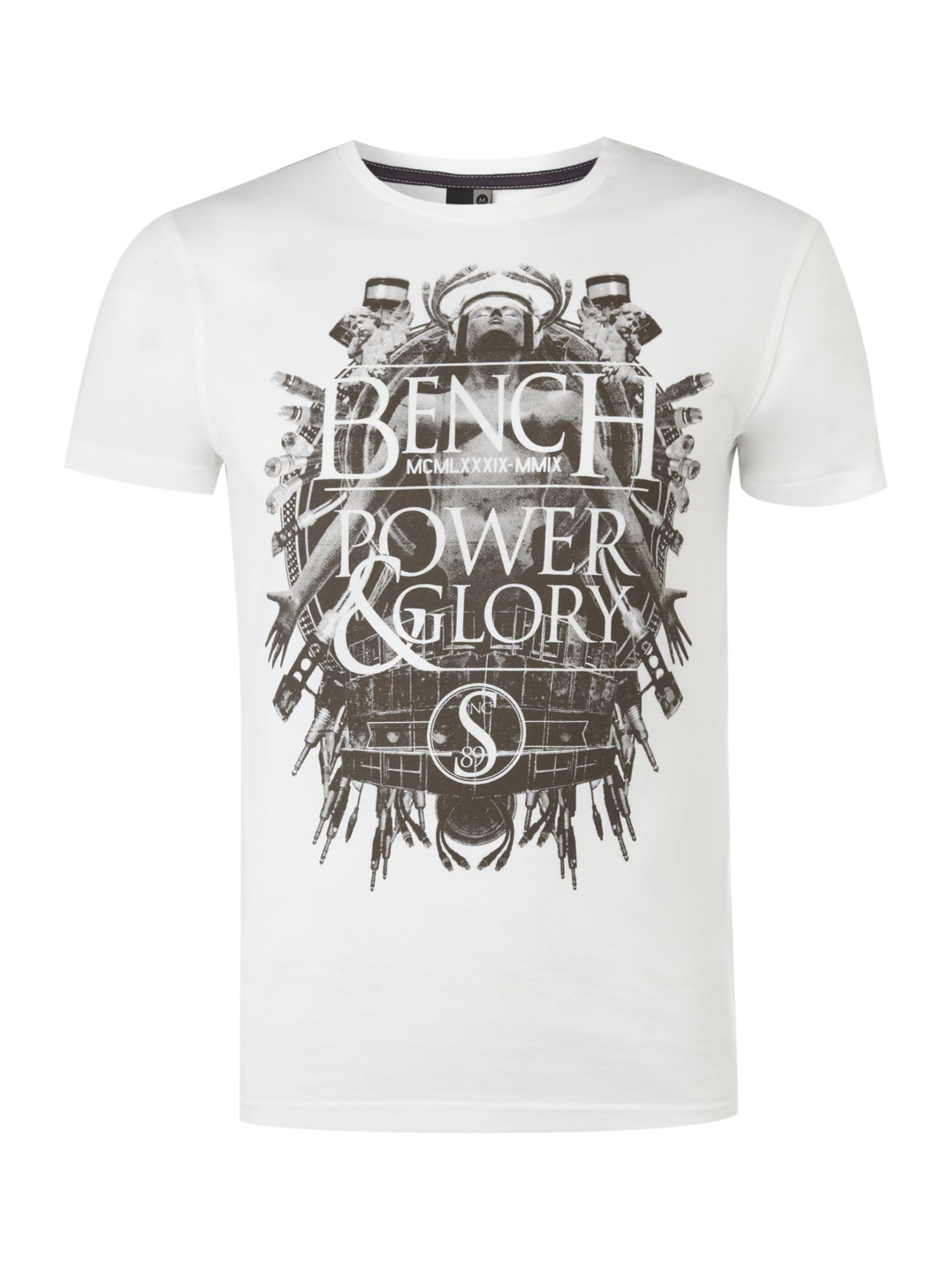 Mens Bench Audio glory printed T-shirt,