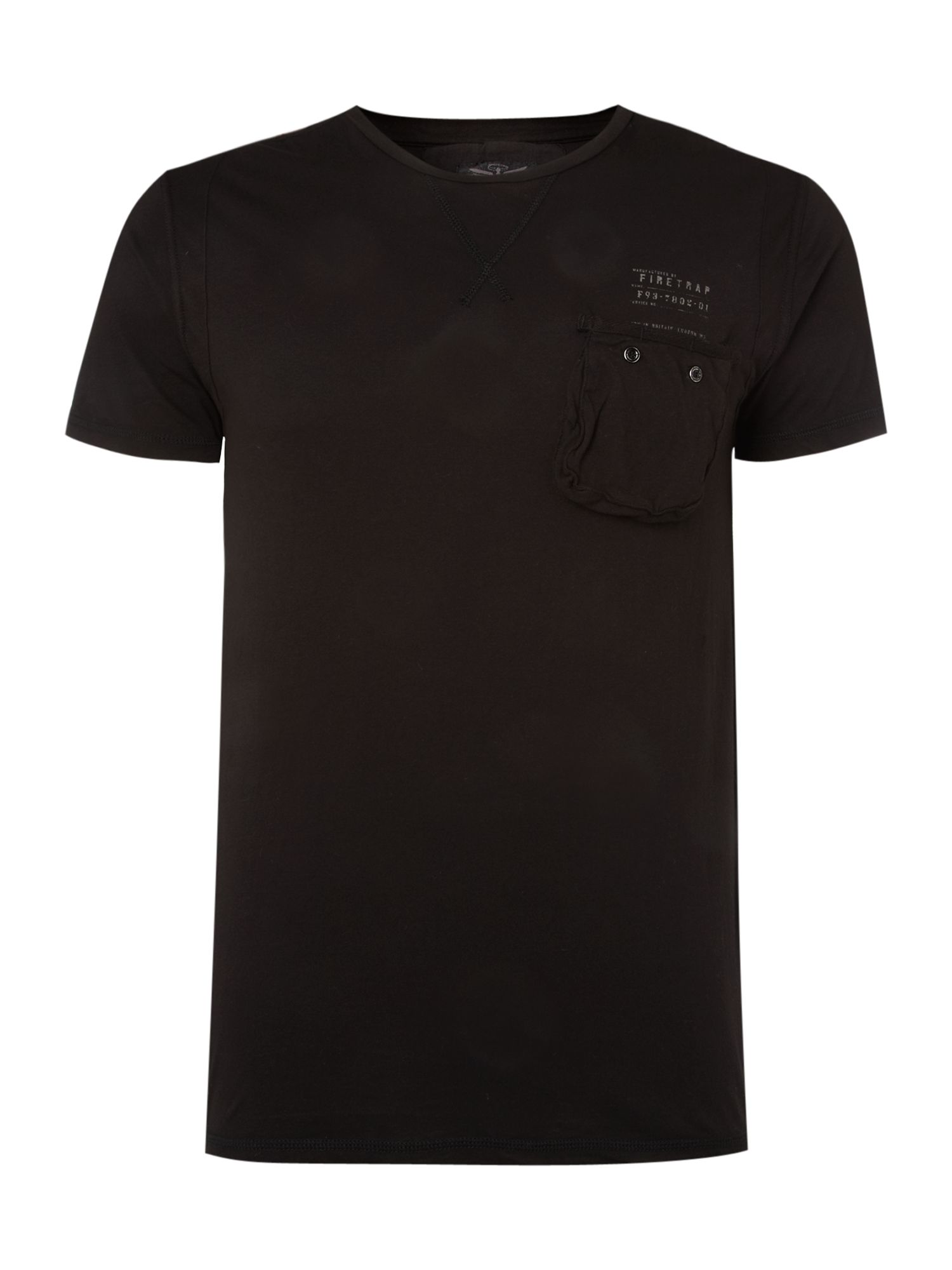 Firetrap One pocket T-shirt - White product image