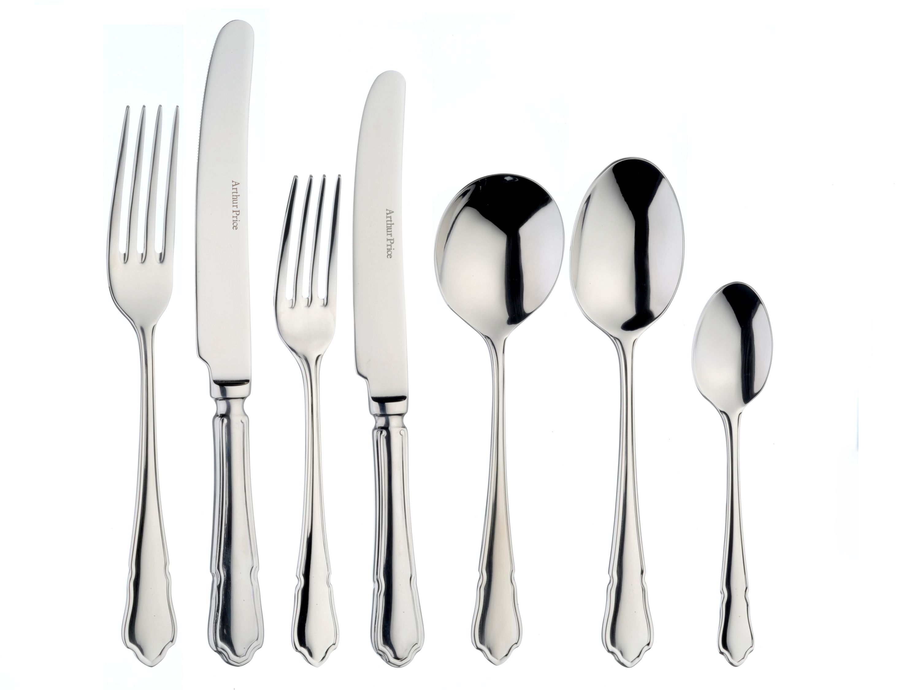 Dubarry 44 piece cutlery canteen