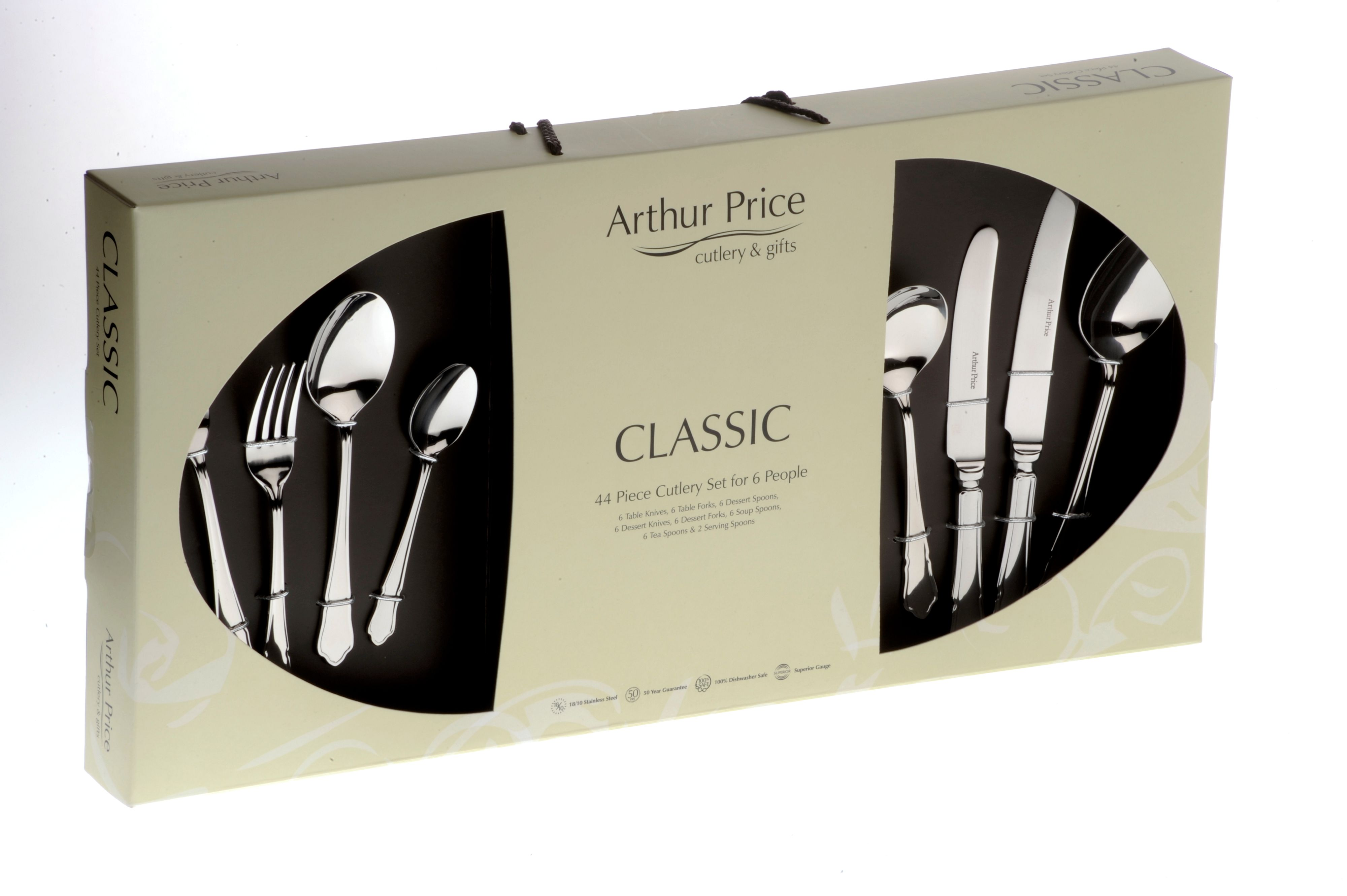 Dubarry 44 piece cutlery box