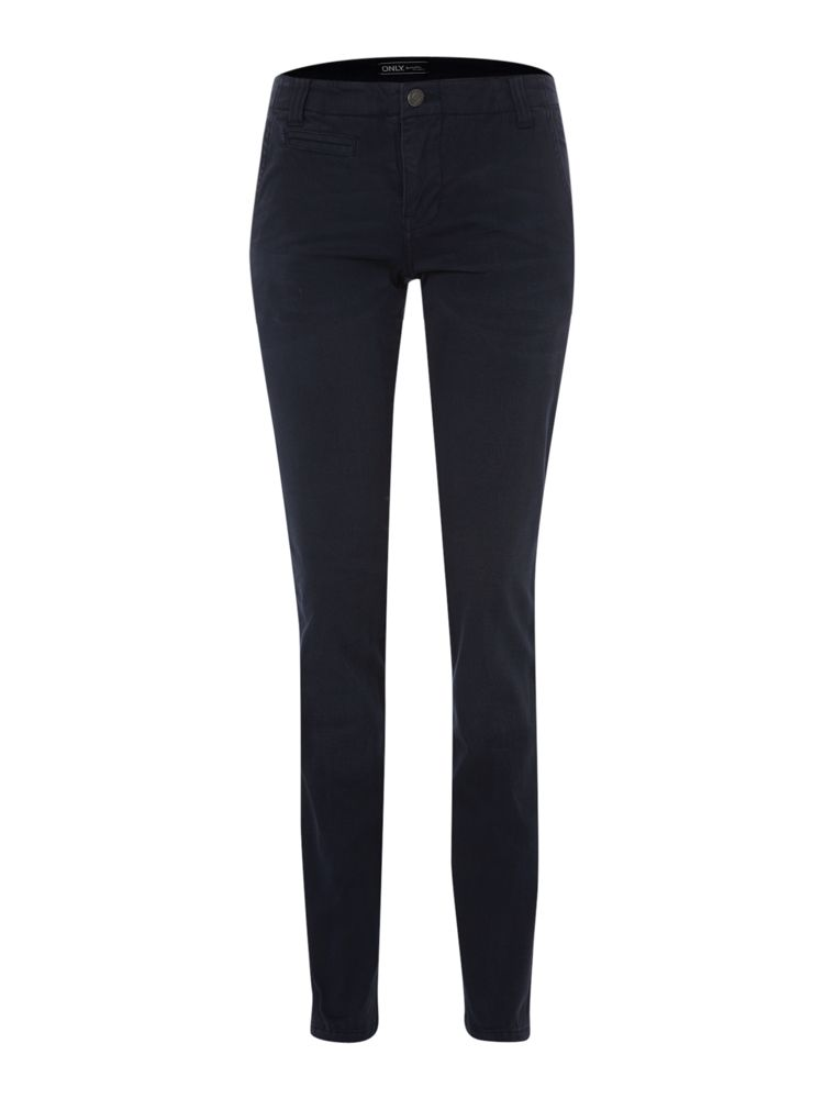 Only-Skinny-Finn-Chino-Trousers-In-Navy
