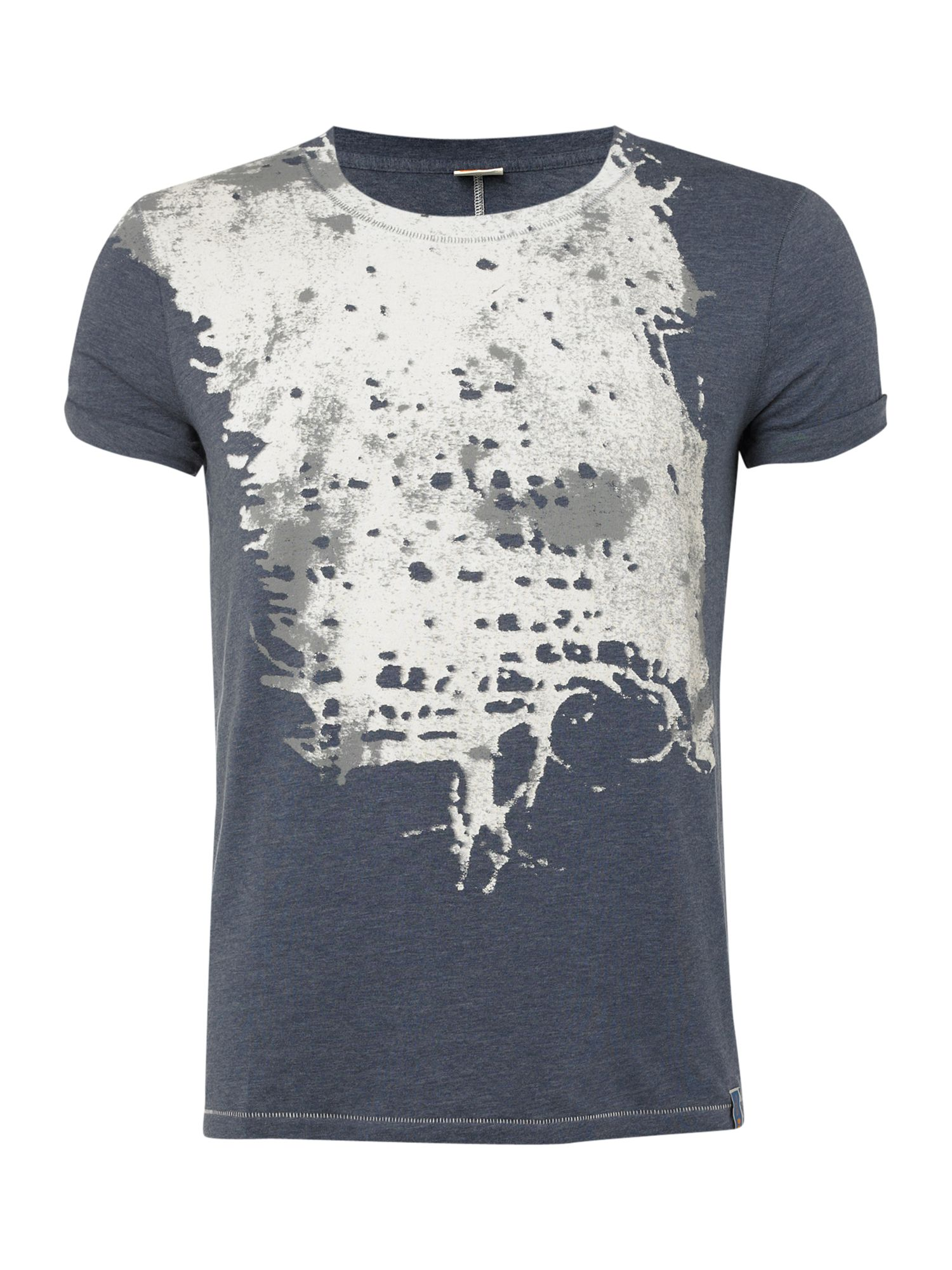 Hugo Boss Splatter T-shirt - Navy product image