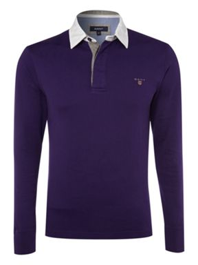 Gant Regula fitted plain rugby top