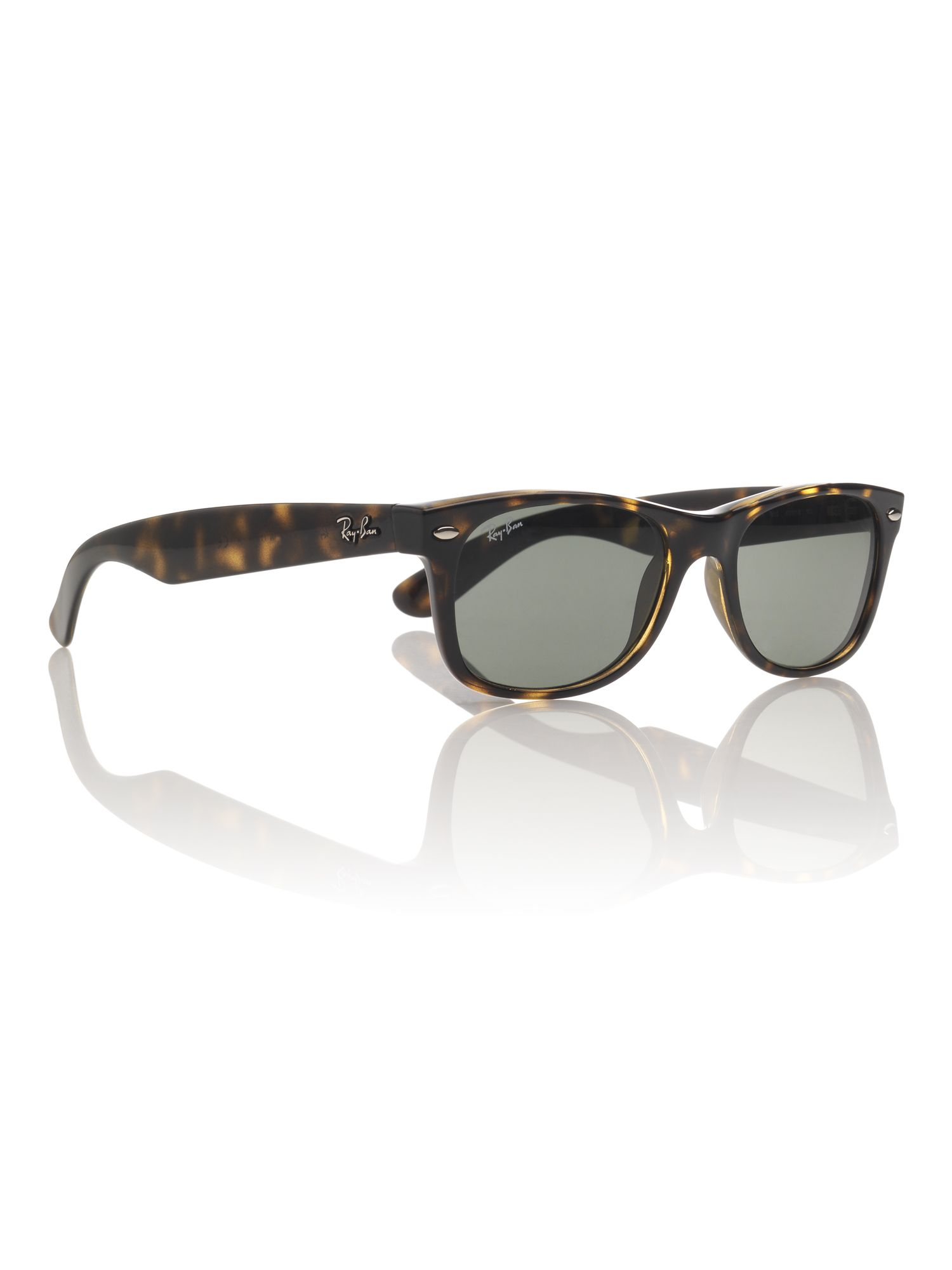 Unisex RB2132 New Wayfarer Tortoise Sunglasses