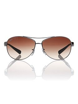 Unisex RB3386 004/13 Pilot Sunglasses