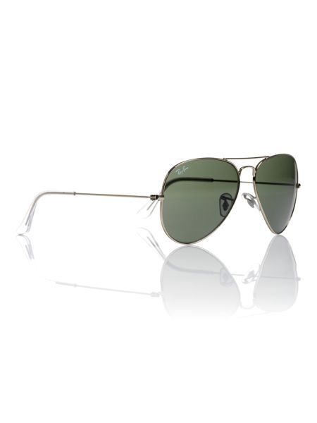 Ray-Ban Unisex RB3025 Aviator Large Metal Sunglasses