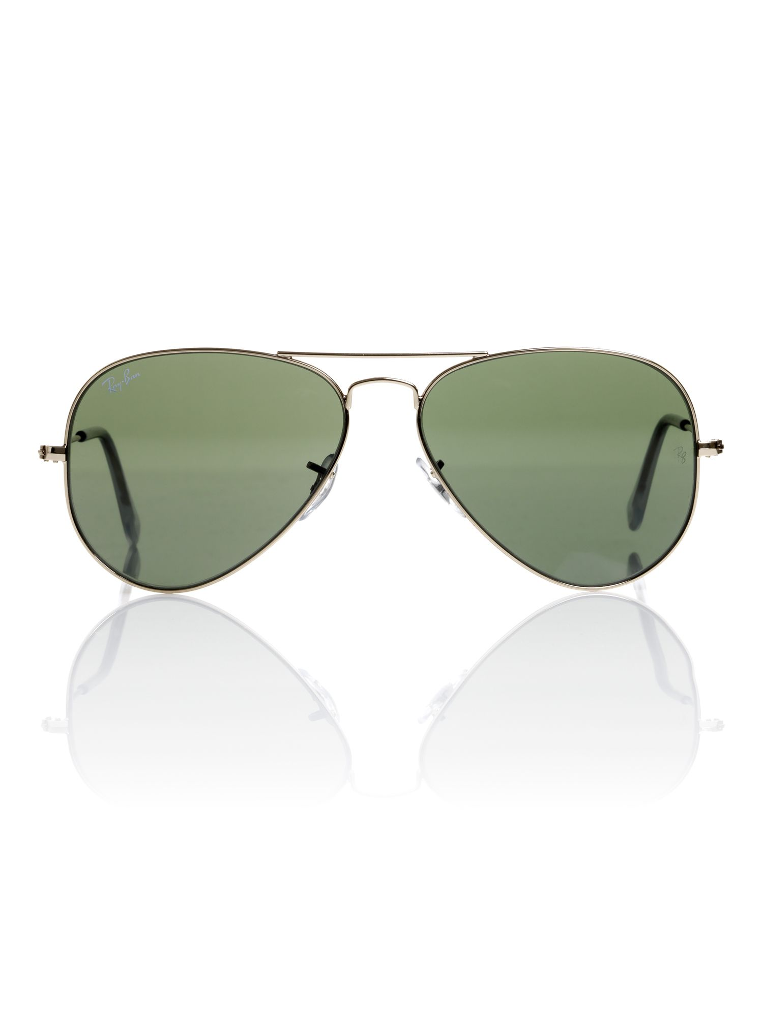Unisex RB3025 Aviator Large Metal Sunglasses
