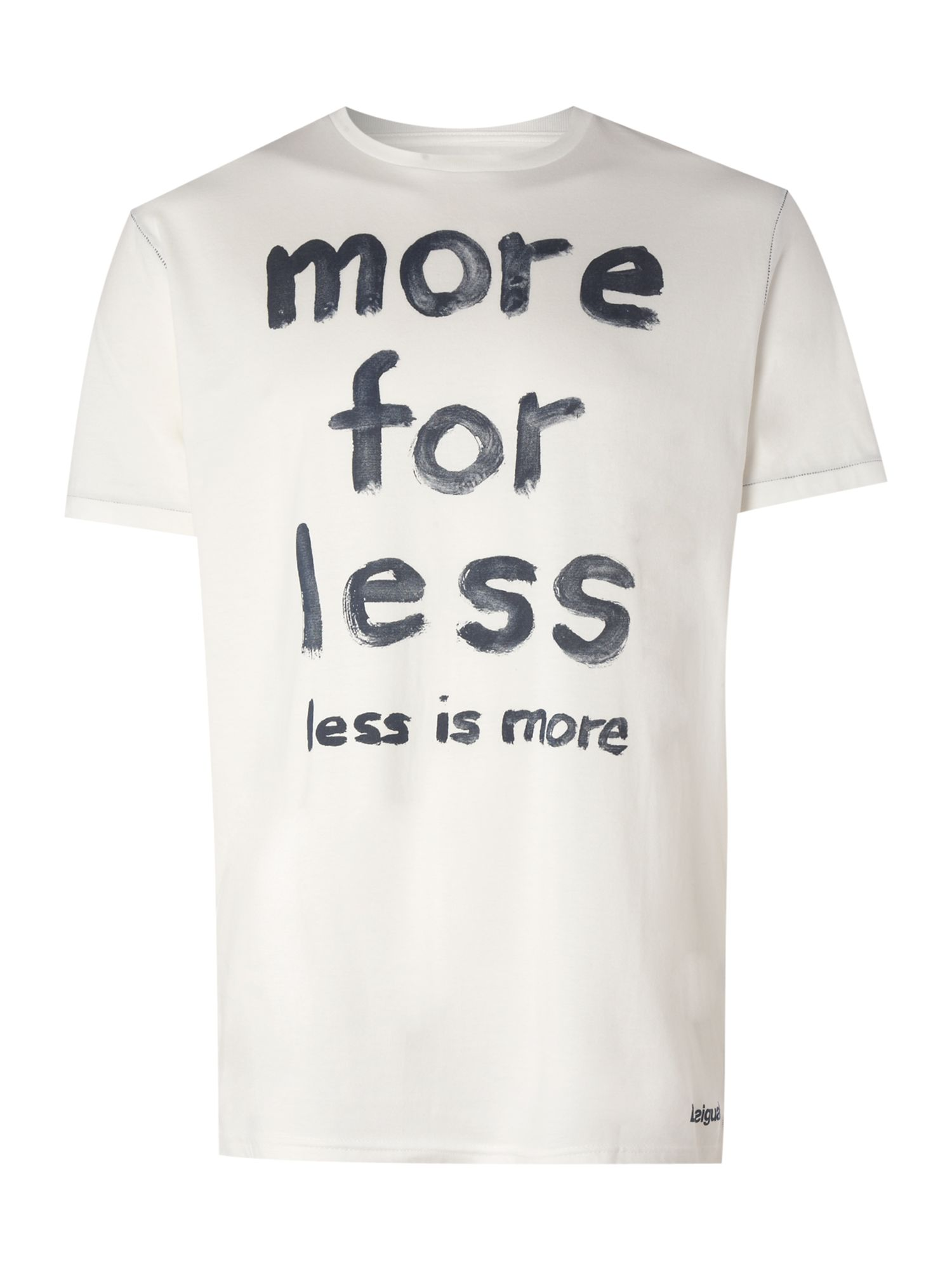 Desigual More for less T-shirt - Off White L,L,L,XL,XL,XL product image