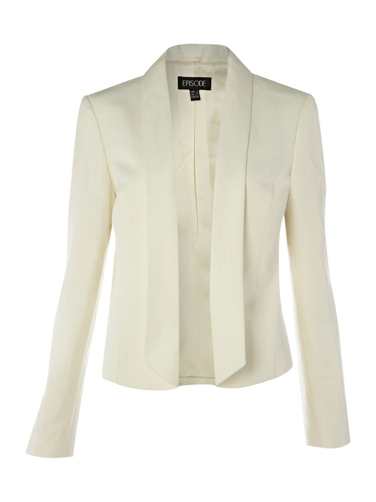 Episode-Silk-Linen-Jacket-In-Ivory