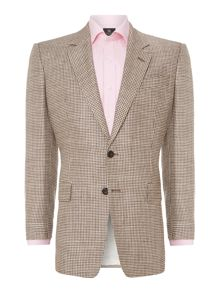 Classic houndstooth check jacket
