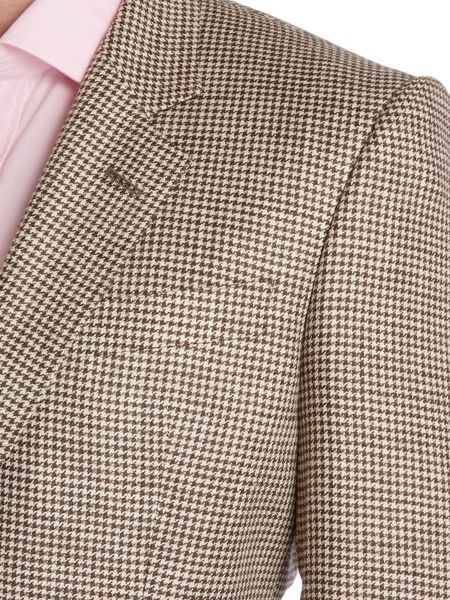 Chester Barrie Classic houndstooth check jacket