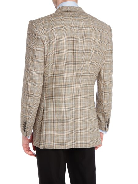 Chester Barrie Classic overcheck jacket