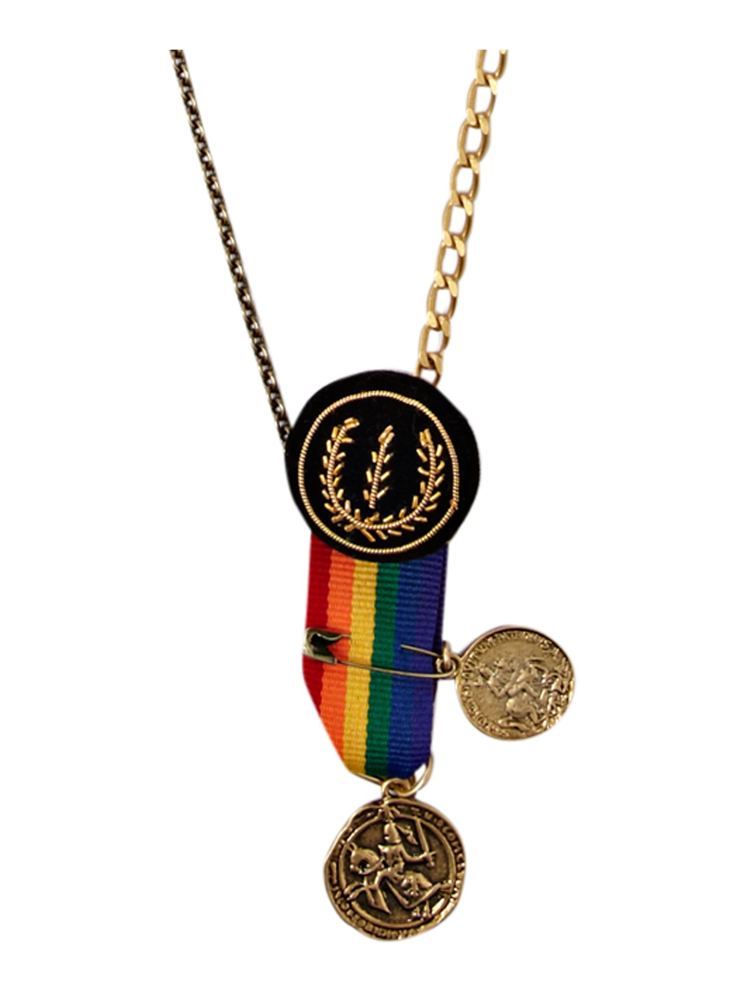 Disney Couture Medal themed necklace