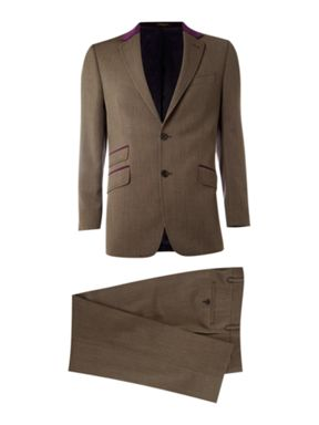 Simon Carter Single breasted cavalry twill suit