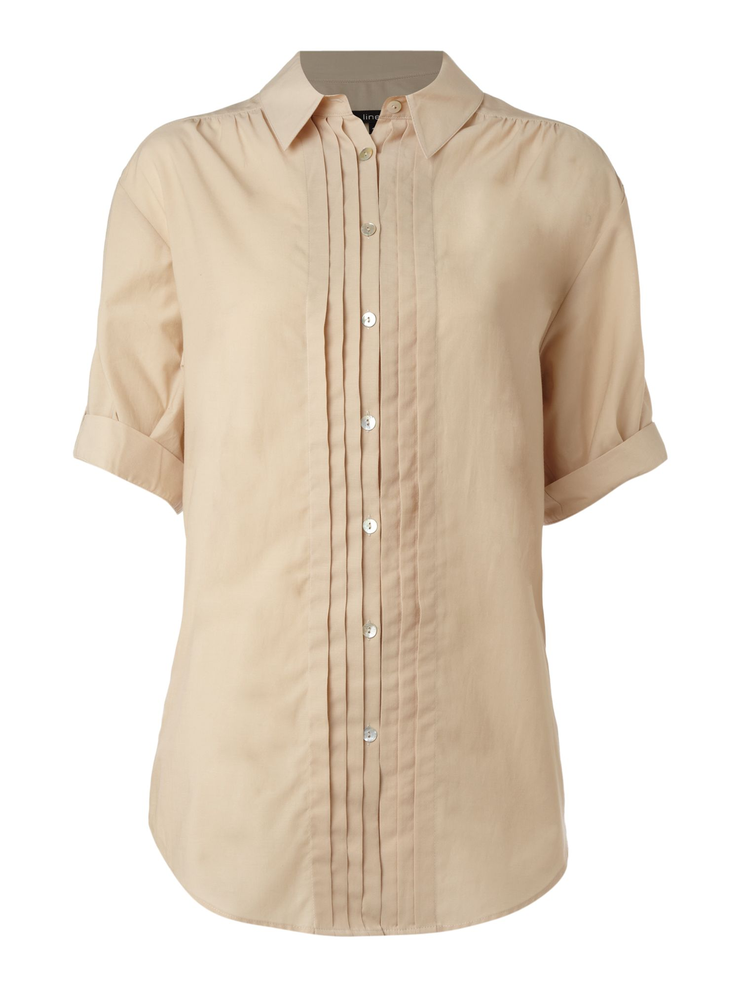 Linea Pintuck blouse - Natural product image