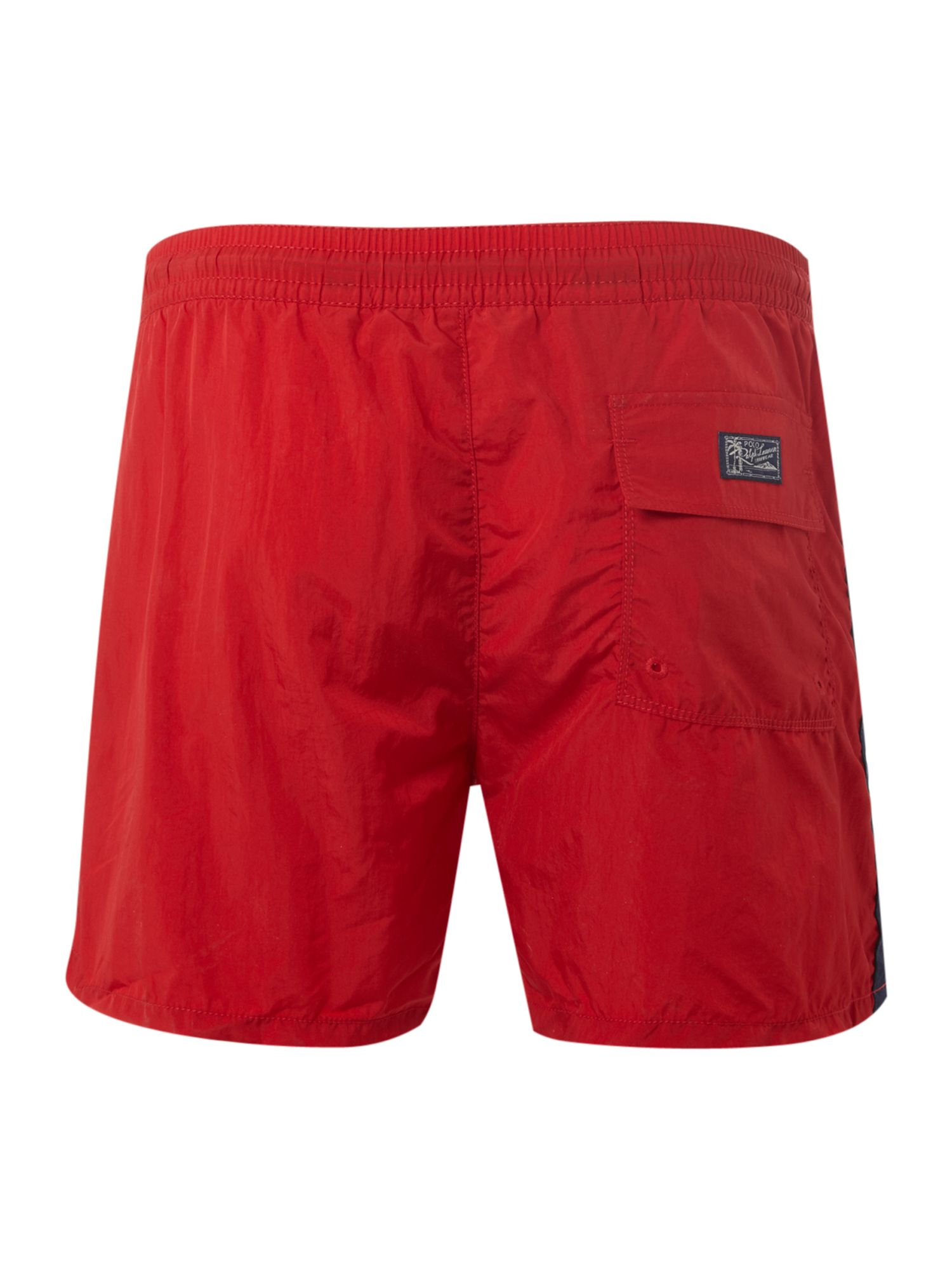 Swim shorts with side stripe