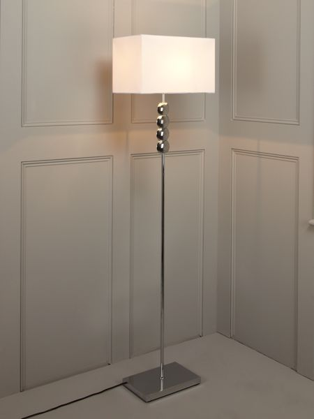 Linea Taylor chrome floor lamp