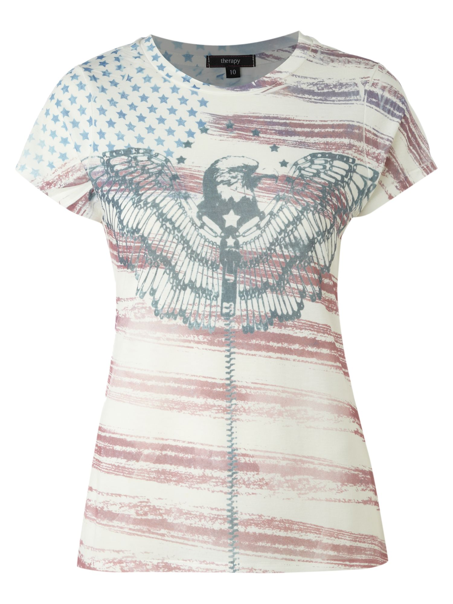 Therapy Old American flag t-shirt - Off White product image