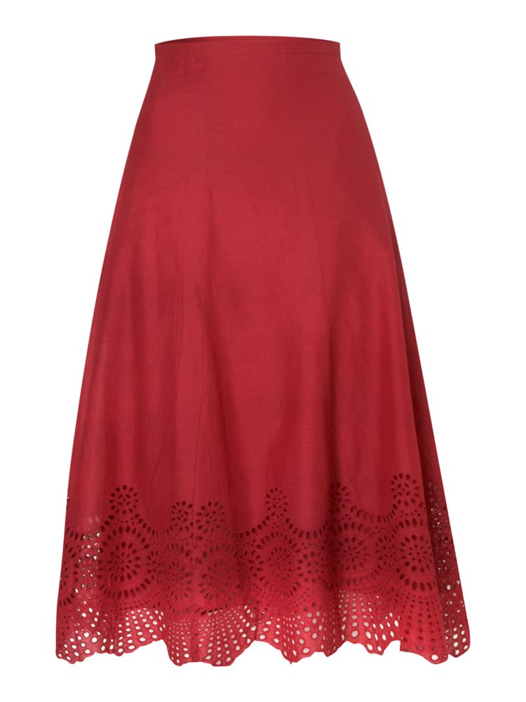 Dickins-Jones-Embroidery-Detail-Midi-Skirt-In-Cherry