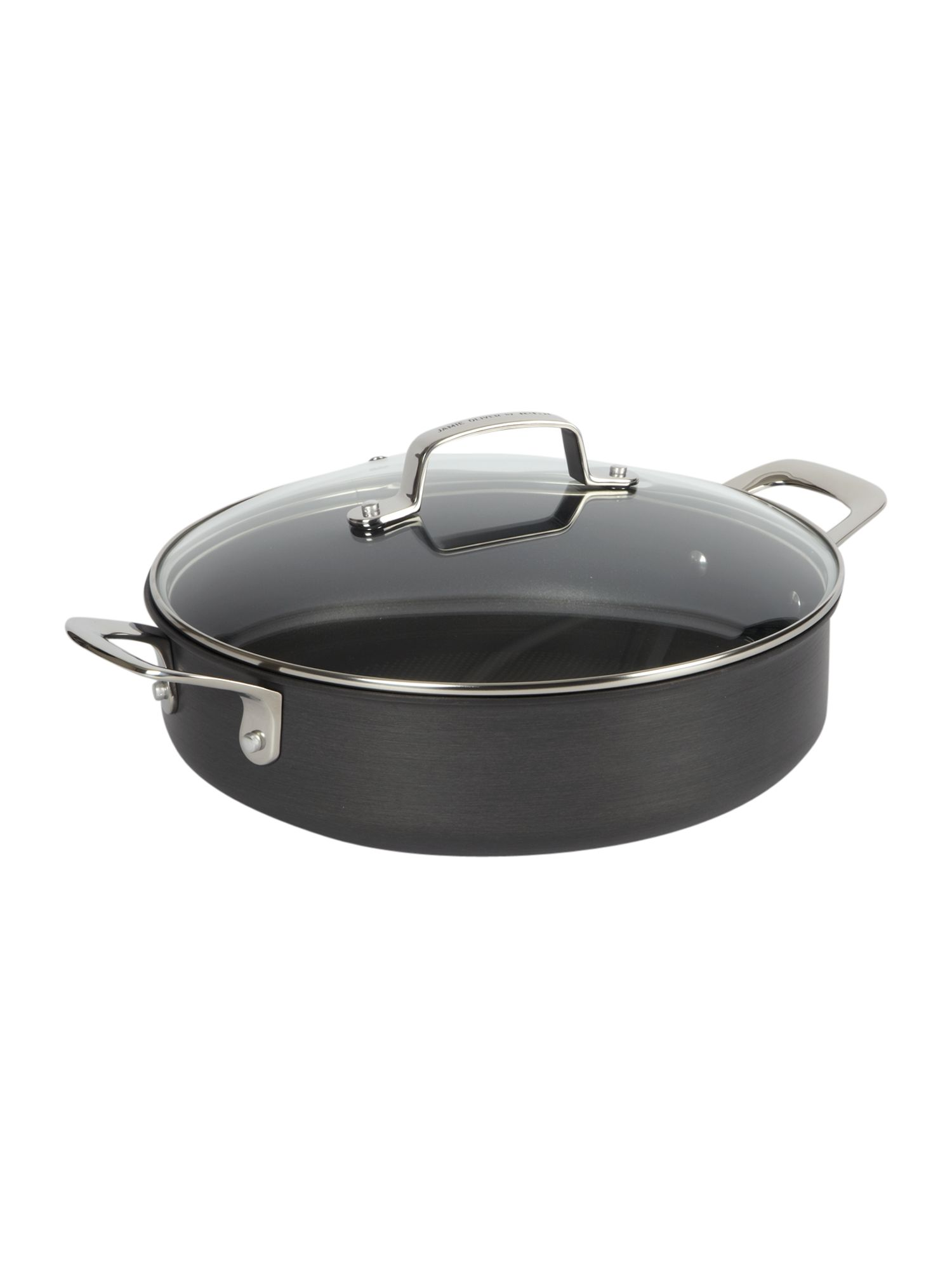 Jamie Oliver by Tefal Hard anodised roast pot