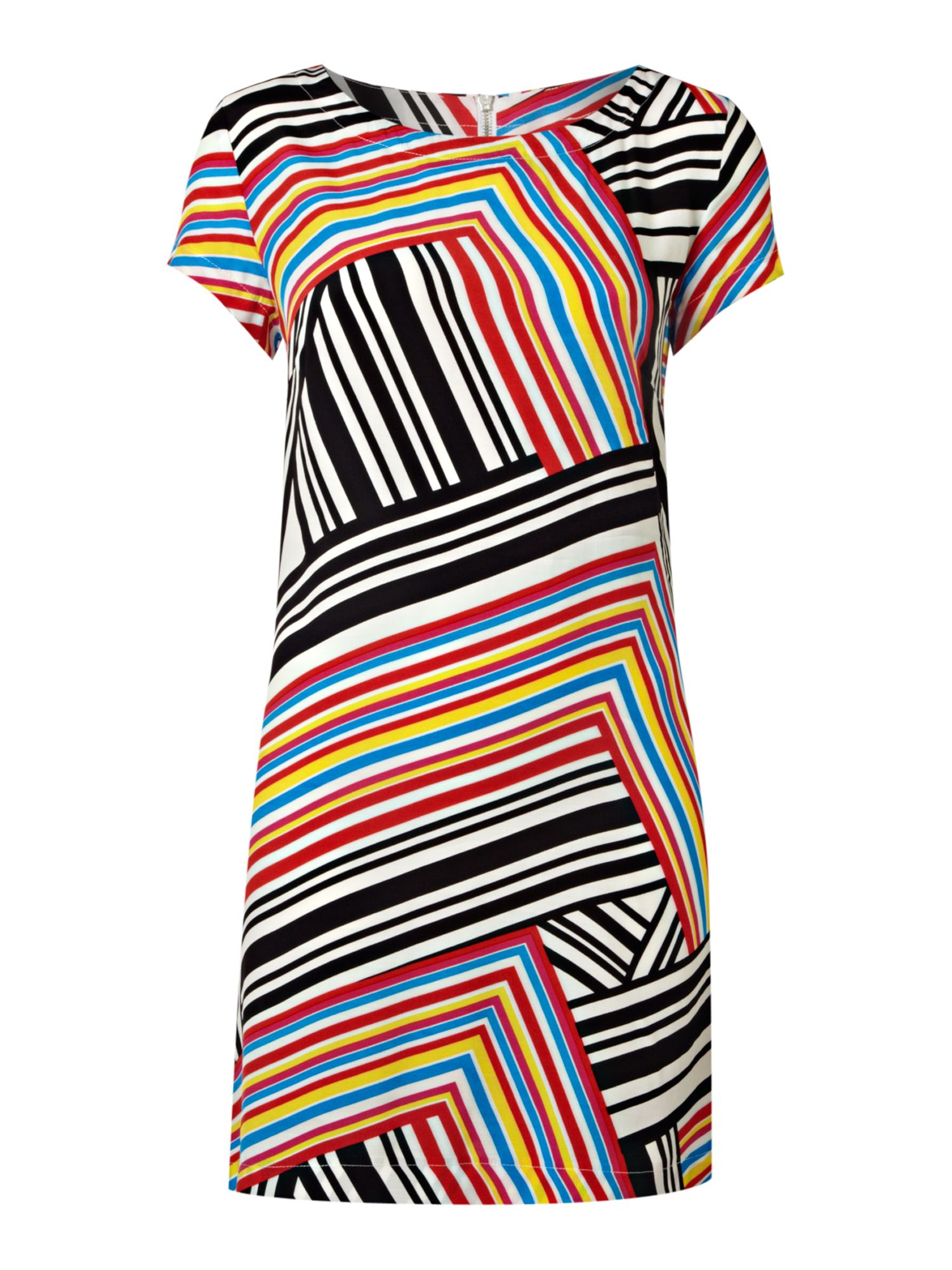 Therapy Striped t-shirt dress - Multi-Coloured product image