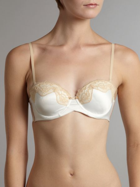 Fly butterfly strapless bra