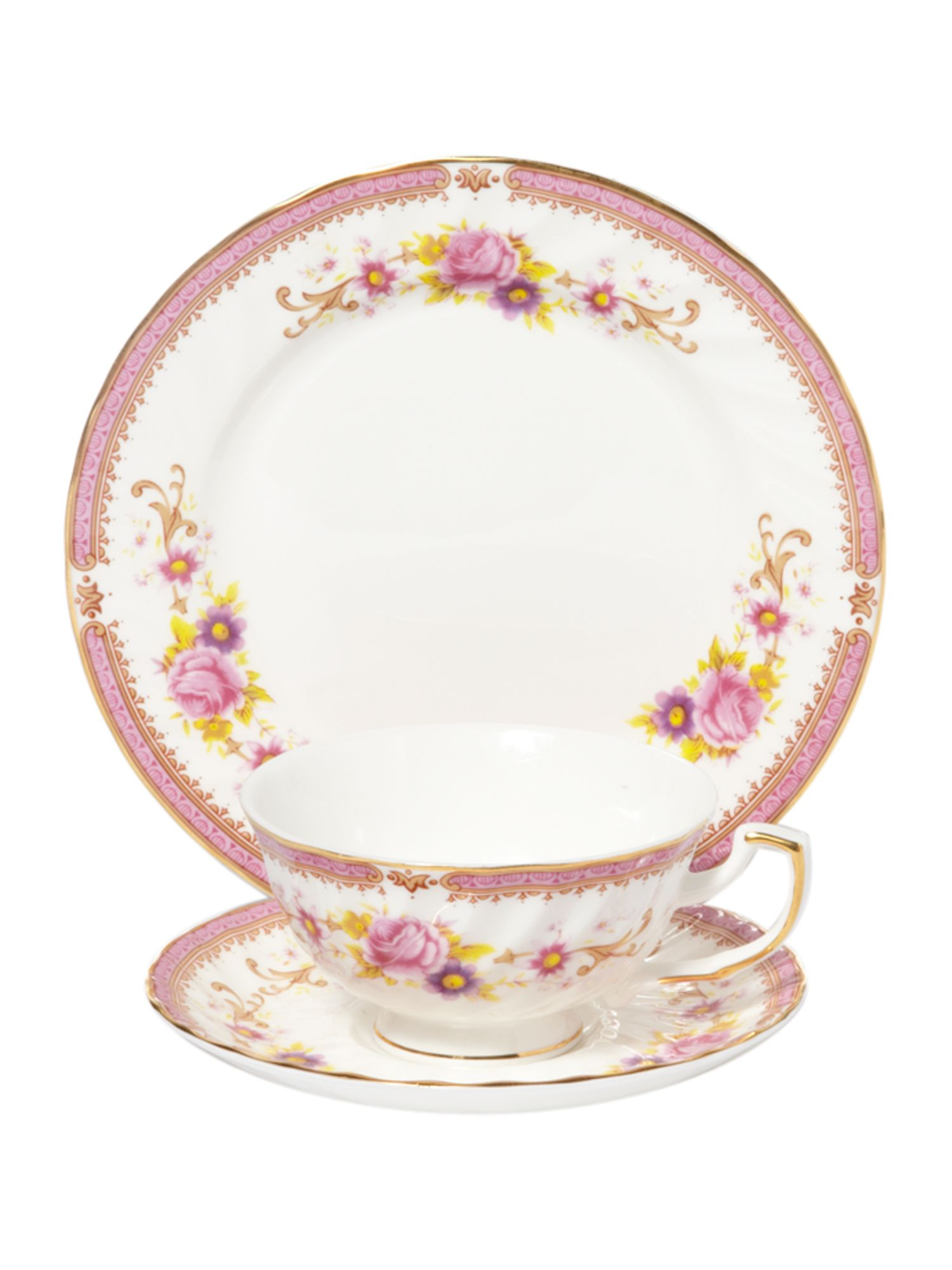 Kensington rose teaset
