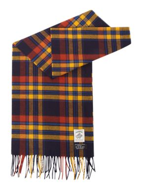 Criminal Checked scarf