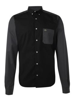 Lacoste Live! long block sleeved shirt
