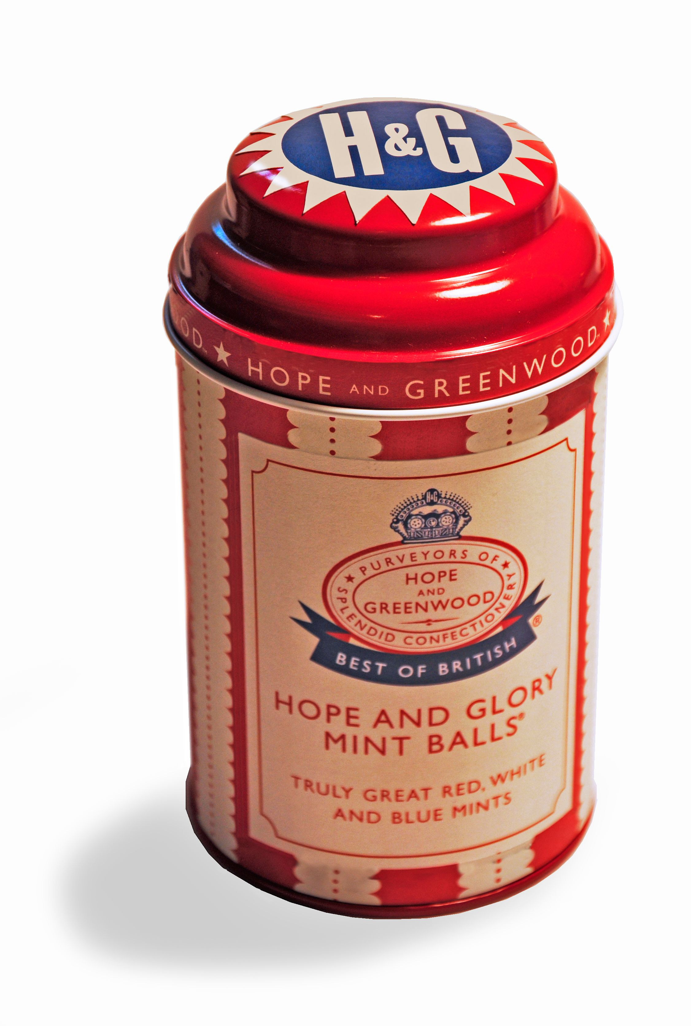 Hope & glory mint balls