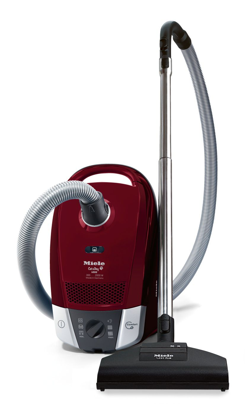 Miele Cat & Dog Vacuum Cleaner - Tayberry Red S6220