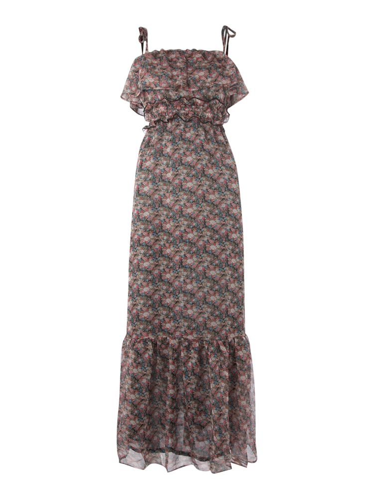 Glamorous-Floral-Print-Maxi-Dress-In-Black-From-House-of-Fraser