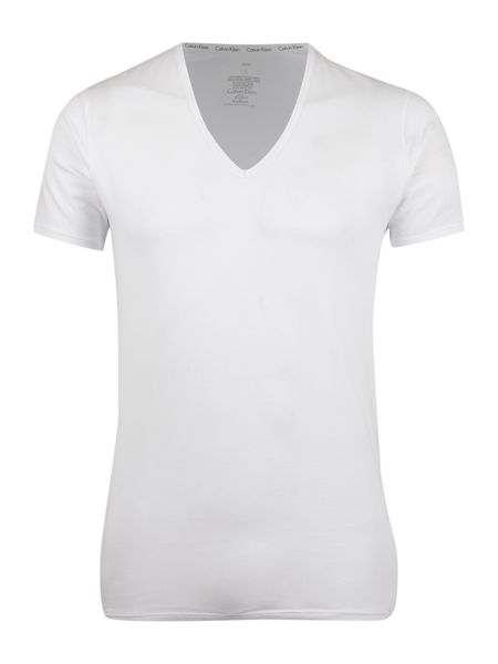 Calvin Klein 2 pack v-neck cotton T-shirt
