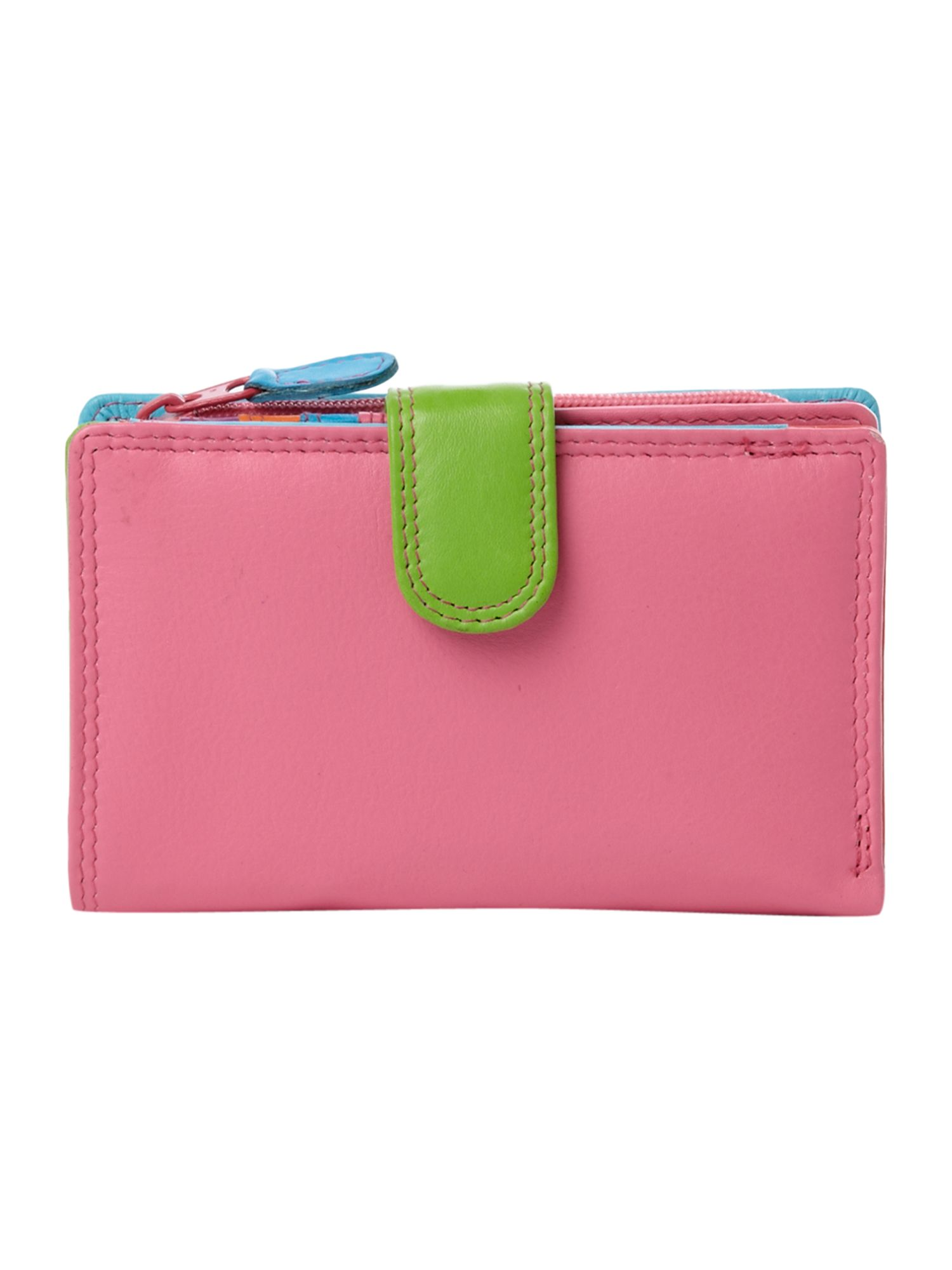 Multi internal small flapover purse