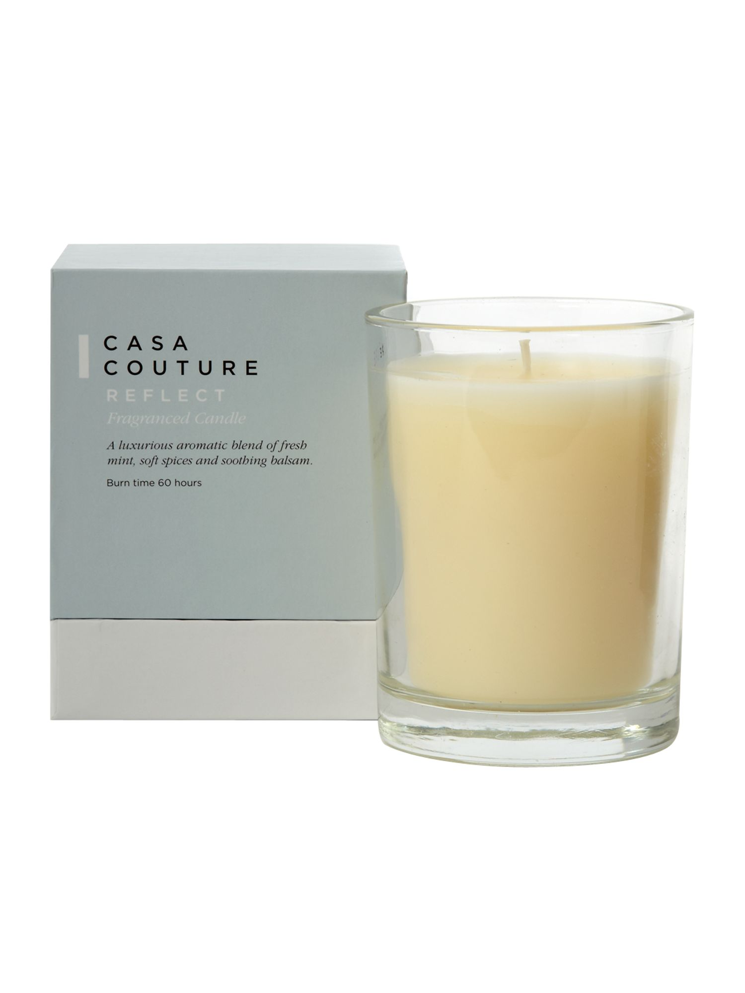 Reflect fragranced candle