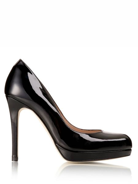 L.K. Bennett Sledge platform court shoes