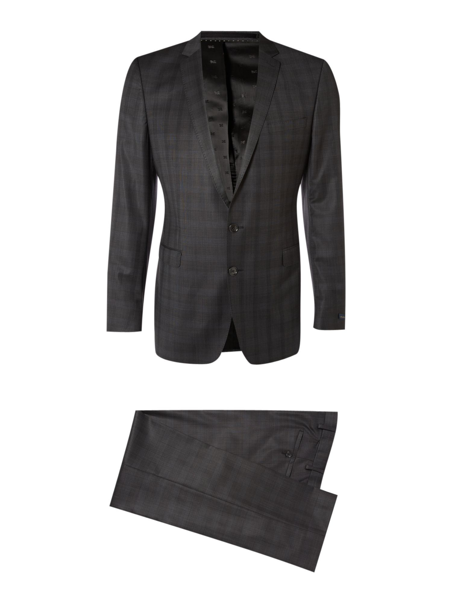 Faint Check formal suit