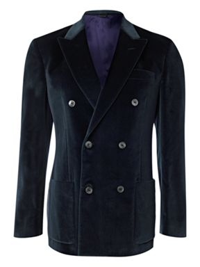 Paul Smith Double Breasted Velvet Jacket