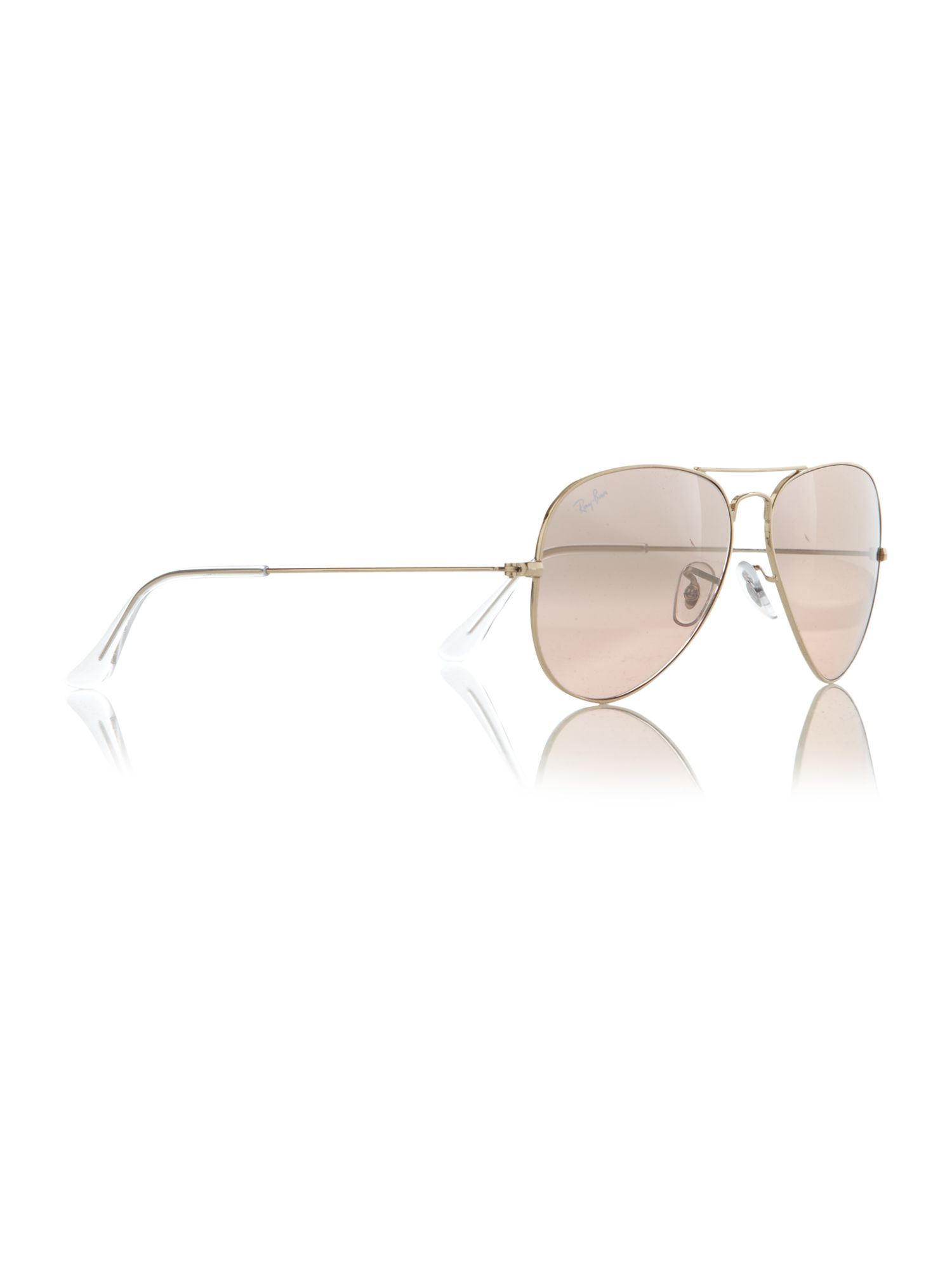 Unisex RB3025 001/3E L.Metal Aviator Sunglasses