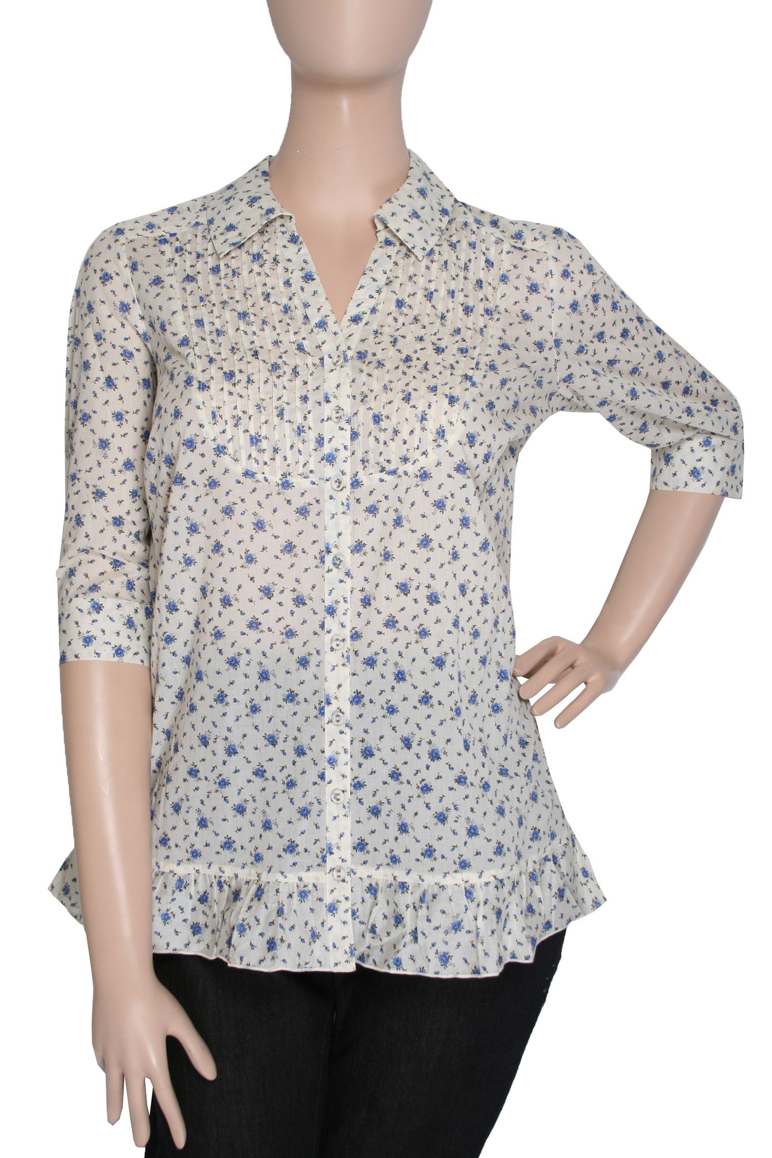 Ann Harvey Ditsy print blouse - Cream 30,30 product image