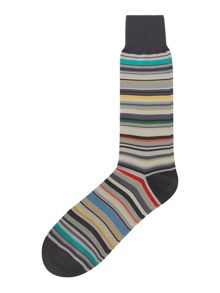 Multistriped socks