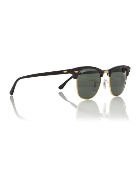 Ray-Ban Unisex RB3016 Ebony/Arista Clubmaster Sunglasses