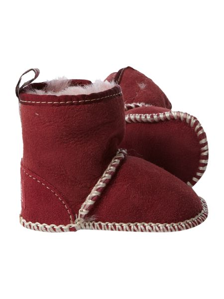 Just Sheepskin Embroidered sheepskin boot