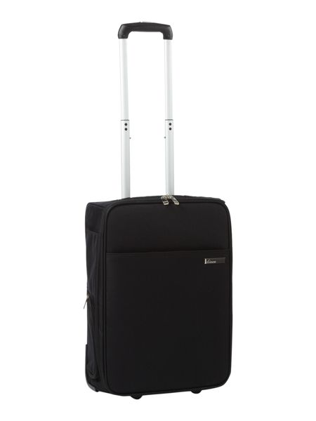 Linea Cabin Black 55cm 2 Wheel Case