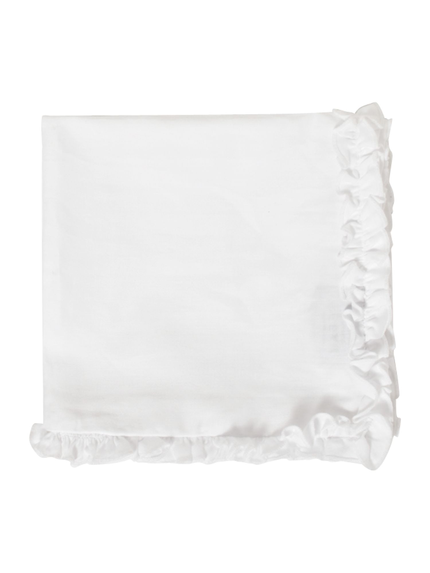 Verity ruffle edge napkin